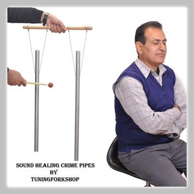 c-g-whole-body-2-healing-tuned-pipes-louder-than-tuning-fork-with-mallethand-stand-free-shipping