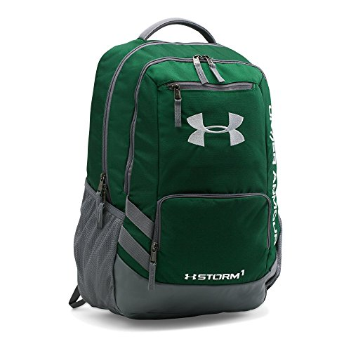 UPC 888376408077, Under Armour Storm Hustle II Backpack, Forest Green/Graphite, One Size