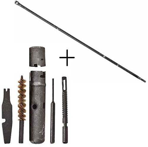 Ultimate Arms Gear Military Surplus AK47 AK74 AKM Kalashnikov SKS 7.62x39mm Rifle Cleaning Tool Kit + Mil-Spec AK-47 AK-74 AKM Cleaning Rod For 16