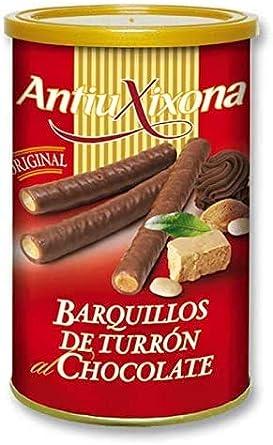 Barquillos de Turrón al Chocolate, Caja o Pack de 2,4 KG (12 latas ...