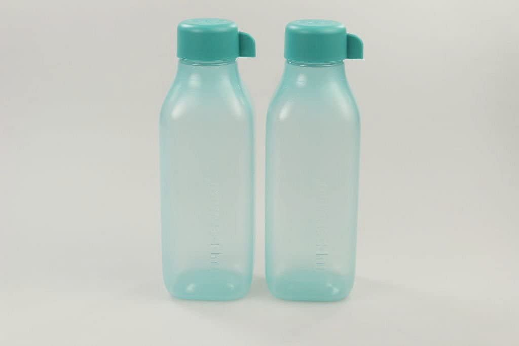 Tupperware to go Eco 500 ML Turquesa (2) EcoEasy quadtratisch Botella 28638