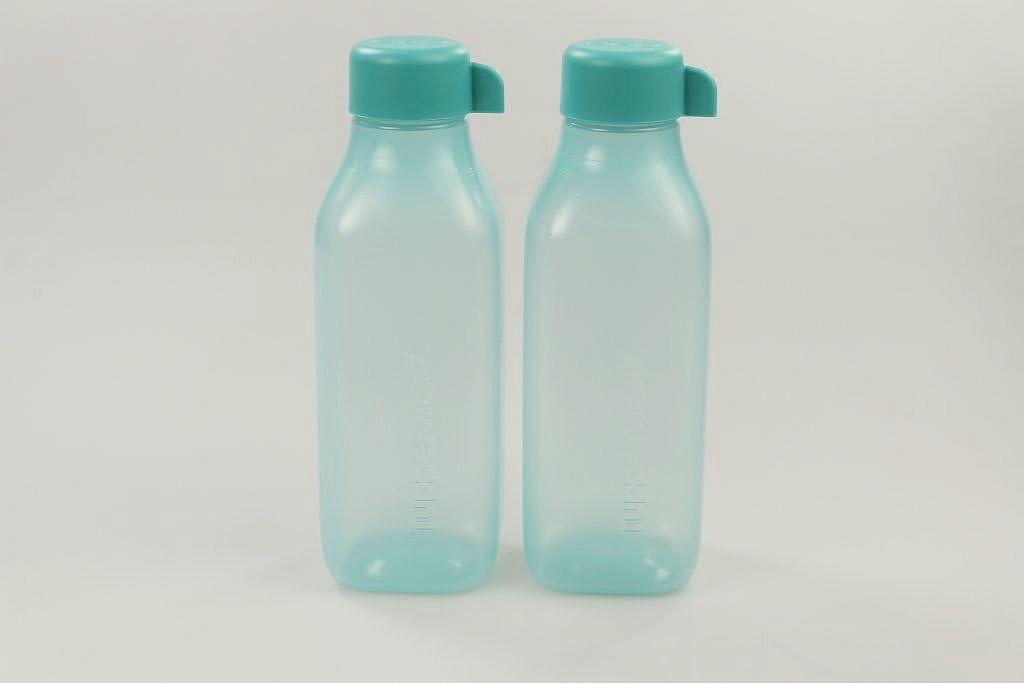 Tupperware to go Eco 500ML Turquesa (2) EcoEasy quadtratisch Botella 28638