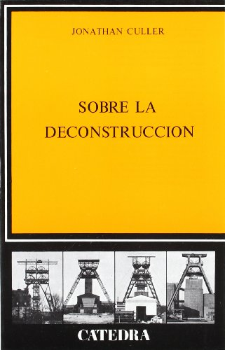Descargar Libro Sobre La Deconstrucción Jonathan Culler