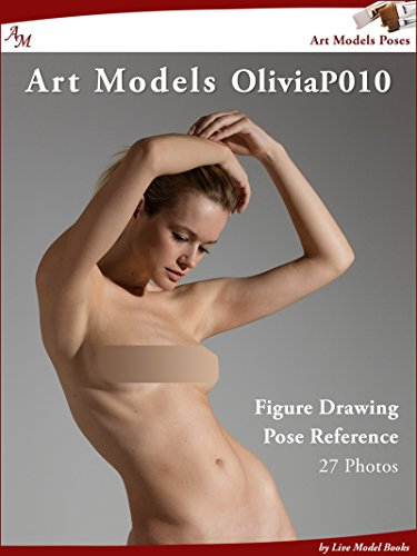 amazon com art models oliviap010 figure drawing pose reference