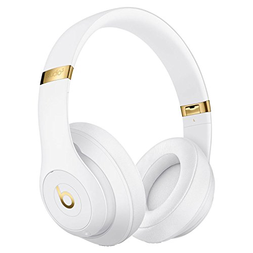 Beats by Dr. Dre Studio_3 Wireless Bluetooth Over Ear Headphones in White with Carrying case