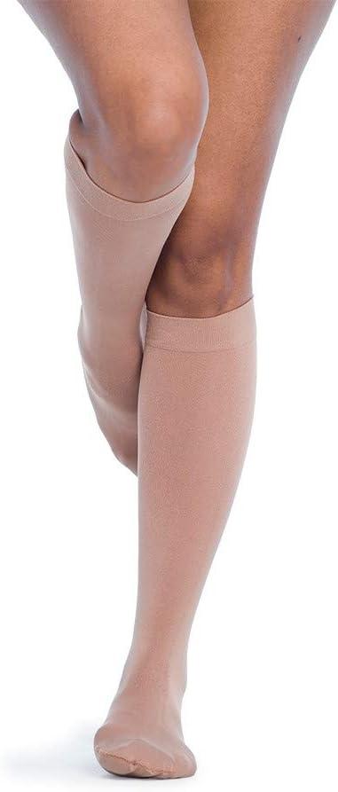 SIGVARIS Women/'s Style Soft Opaque 840 Closed Toe Calf-High Socks 15-20mmHg