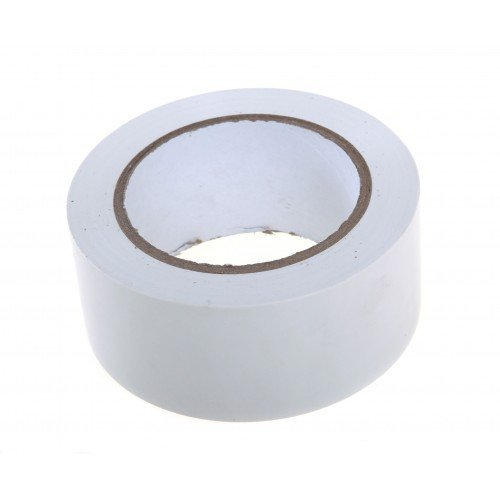 ELATAPES EXPAND STICKING POSSIBILITIES Floor Marking Tape (White, 3″inch 72 mmx25 m) -1 Roll Price & Reviews