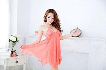 Vestido de mujer puntas Pijama schlafanzug en primavera y verano ropa Perspectiva inneneinrichtungsgegenstände Código, Watermelon