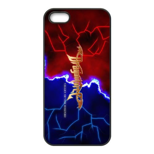 Dragonforce 007 coque iPhone 5 5S Housse téléphone Noir de couverture de cas coque EOKXLLNCD19130