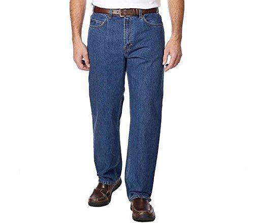 k s Kirkland Signature Mens Jeans Relaxed Waist Light Wash 40x32
