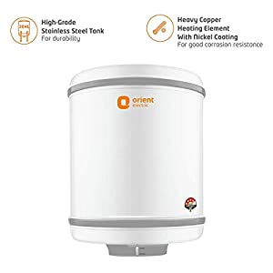 Orient Electric Aqua Spring Storage 25L Vertical Water Heater-BEE 4 Star
