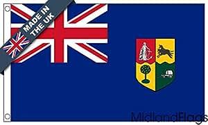 duraflag® azul Ensign de Sudáfrica bandera de calidad profesional, 1910–1928(puerta y Cambiadas), 3ft x 2ft (91cm x 61cm)