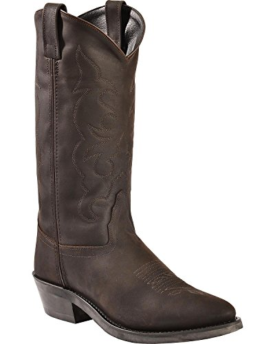 Old West Boots Men's TBM3051 Distress 7.5 D US ()