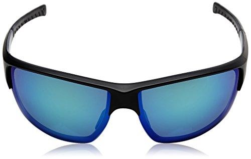 Red Bull Racing Eyewear - Lunette de soleil HARE SPORTS-TECH Ovale matt black & shiny black inside & rubber black /green with green revo