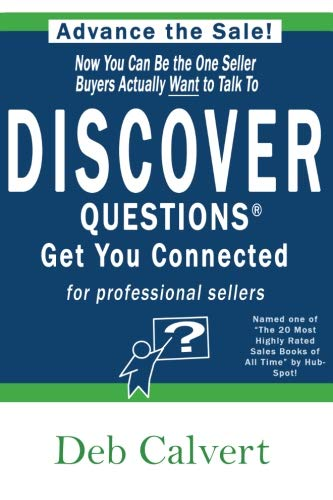 Make every sales call count and be the ONE seller buyers want to talk to! With DISCOVER Questions™ , you will be able to differentiate yourself from the pack, create value for your buyers and connect is ways you never knew were possible. The research...