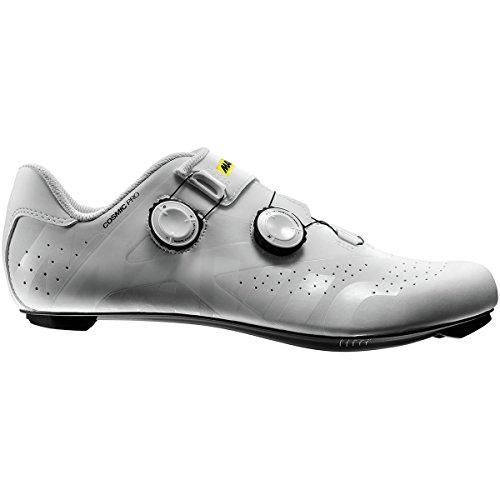Mavic Kosmische Pro Cycling Schoenen - Heren Wit / Wit / Zwart