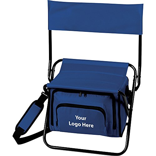 Folding Insulated Cooler Chair - 20 Quantity - $23.00 Each - PROMOTIONAL PRODUCT / BULK / BRANDED with YOUR LOGO / - Customized Chairs Folding