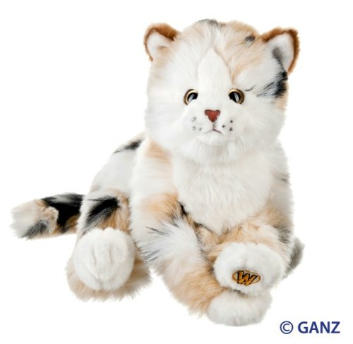 Webkinz Signature Marble Cat with Trading Cards