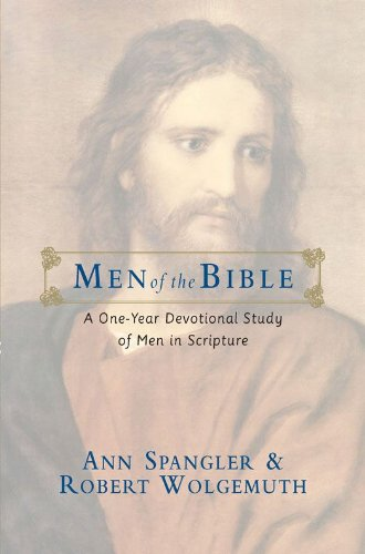 Men of the Bible: A One-Year Devotional Study of Men in Scripture cover