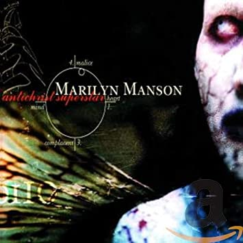 Marilyn Manson Antichrist Superstar album cover