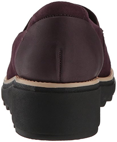 Aubergine Loafer CLARKS Sharon Suede Women's Dolly qFT7wzS
