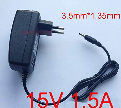AC Converter Adapter DC 12V 1.5A Power Supply Charger US 3.5mm x 1.35mm 1500mA