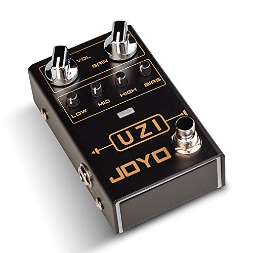 JOYO R-03 UZI Distortion Pedal Guitar Effect Pedal for Heavy Metal Music, With BIAS Knob, True Bypass, Guitar Bass Accessories - Metal Distortion Mini Effects Pedal