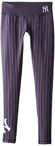 FOCO New York Yankees Pinstripe Big Logo Print Legging Extra Small by FOCO