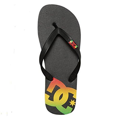 DC Shoes SPRAY M SNDL RST, MAN, Color: RASTA, Size: 46 EU (12 US / 11 UK)