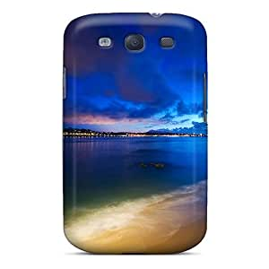 S3 Scratch-proof Protection Case Cover For Galaxy/ Hot Beautiful Beach Phone Case