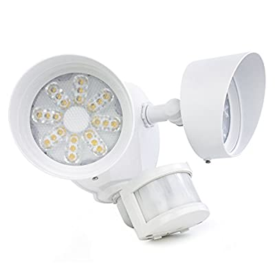 Newhouse Lighting NHSL3WH LED Security Light, White