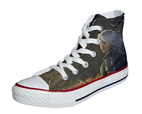 Converse All Star chaussures coutume mixte adulte (produit artisanal) Future Girl C