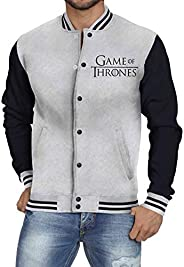 Jaqueta De Moletom College Criativa Urbana Game Of Thrones Série - Masculina