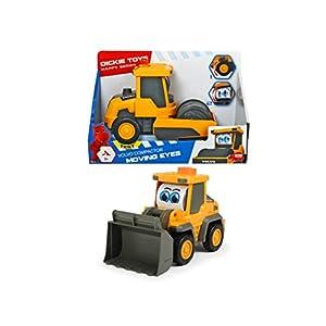 Dickie Toys - Happy Series, Volvo Moving Eyes, Caricatore / Compattatore Volvo (Escavatore giocattolo con pala… 419uwYpXypL. SS300