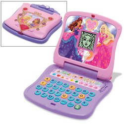 Laptop B Barbie (Barbie Diamond Castle Learning Laptop)