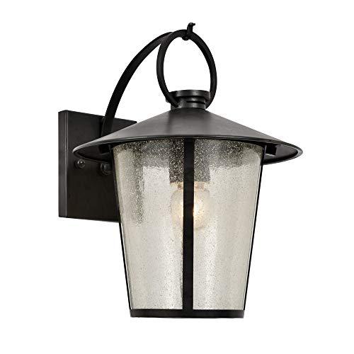 (Crystorama ARC-1900-SA-CL-MWP Arcadia 3 Light 15 inch Antique Silver Semi Flush Mount Ceiling Light)