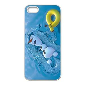diy zhengFrozen lovely snow baby Cell Phone Case for iphone 5c/