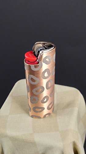 BIC Lighter Cover Metal Blank - Leopard Print Design (MANY (Custom Bic Lighter)
