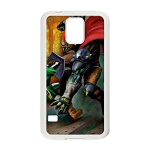 Samsung Galaxy S5 Cell Phone Case White The Legend of Zelda Ocarina of Time OJ538578