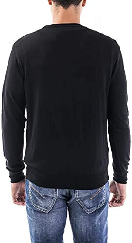 PEUTEREY Cardigan lana Uomo cod.PEU365099011923 BLACK SIZE:XL: Odzież