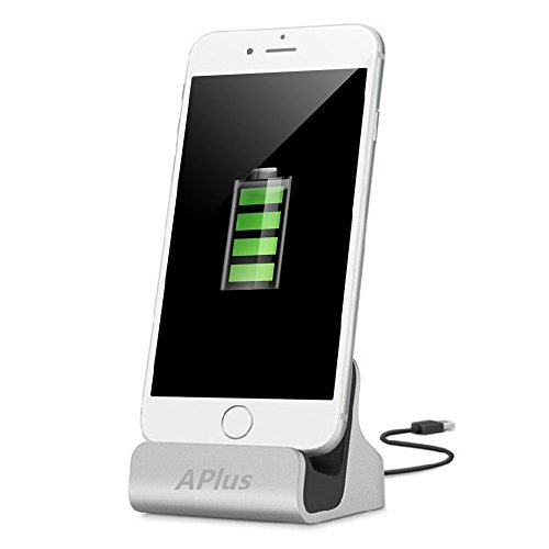 iPhone Charging Dock, Aplus+ iPhone Desk Stand,Charge and Sync Stand for iPhone...