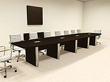 Amazoncom Modern Boat Shaped Feet Conference Table OFCON - 18 foot conference table