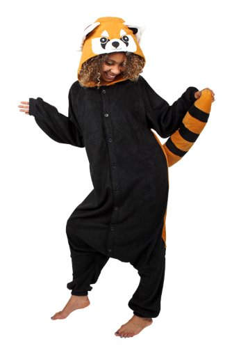 Red Panda Costume (Red Panda Kigurumi (Adults))