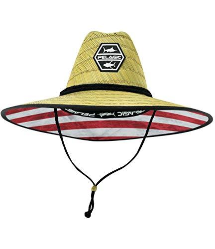 9172c202ba7bc Pelagic Baja Straw Sun Protection Hat