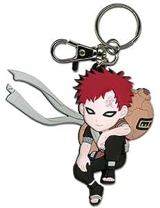"Naruto : Gaara (Sitting Pose) 3.5"" Pvc Key Chain"