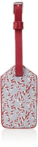 Vera Bradley Women's Keep A Secret Luggage Tag, candy cane