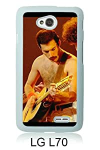 Queen Band Members Concert Action White New Style Custom LG L70 Cover Case
