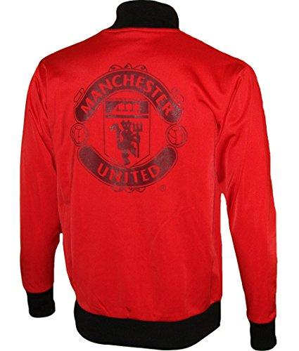 Chaqueta de Entrenamiento con Cremallera Manchester United ...