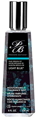 Belcam Bath Therapy Premiere Edition Version of Light Blue Moisturizing Mist, 8 Fluid Ounce