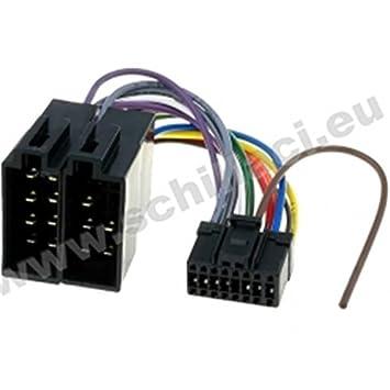 Schema Collegamento Autoradio Pioneer : Cavo adattatore connettore iso per autoradio pioneer: amazon.it